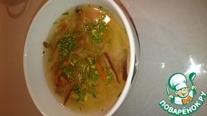 Рецепт Суп из квашеной капусты и соленых грибов