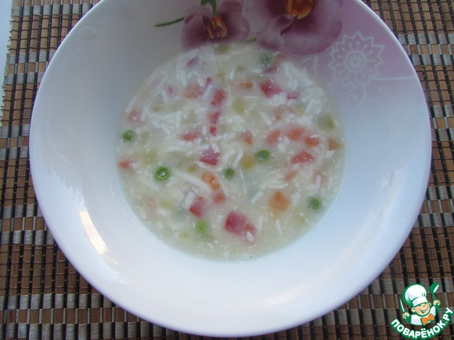 рецепт суп из гавайской смеси