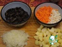 Швабский суп со свининой и перловкой ингредиенты