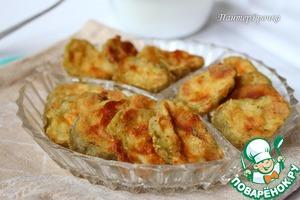 Рецепт Соленые огурцы, запеченные в духовке