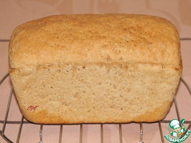 Хлеб ржано пшеничный в хлебопечке рецепт с пошагово