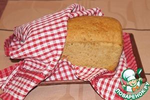 Рецепт Ржано-пшеничный хлеб с тмином