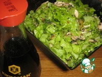 """Салат """"Бело-зелёный"""" ингредиенты"""