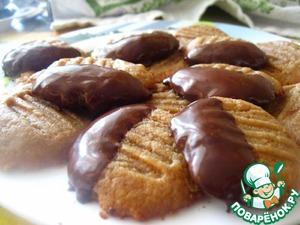 Рецепт Печенье из арахисовой пасты