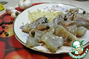 Рецепт Маринованная щука