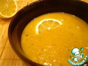 Рецепт Турецкий суп из красной чечевицы