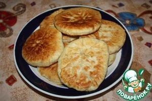 Рецепт Пирожки с кунжутом