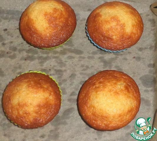 Медово-апельсиновые кексы домашний пошаговый рецепт с фото готовим #3