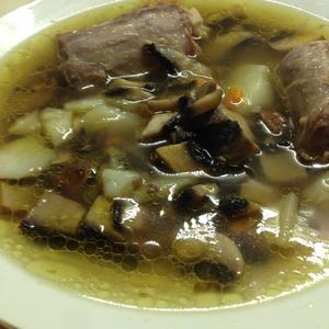 Рецепт Баварский грибной суп