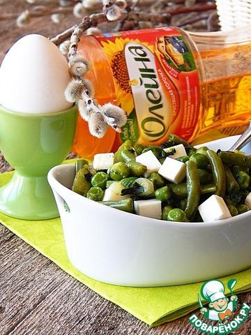 Карри из зеленых овощей с брынзой простой пошаговый рецепт приготовления с фото #7