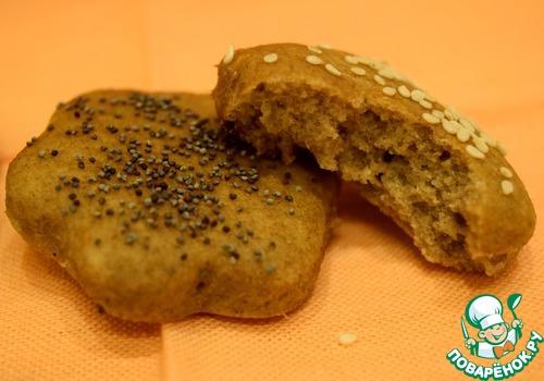 Яблочно-ржаное постное печенье вкусный рецепт приготовления с фото #12