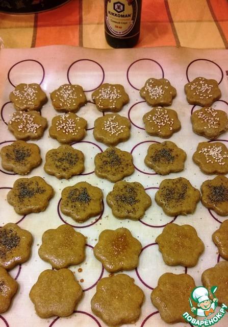 Яблочно-ржаное постное печенье вкусный рецепт приготовления с фото #9