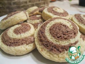 Рецепт Спиральное печенье