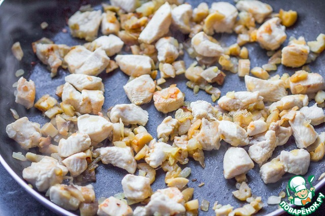 Как приготовить Шампиньоны, фаршированные чечевично-куриным муссом простой рецепт приготовления с фотографиями #3