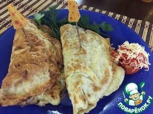 Рецепт Бризоль с сыром и помидорами