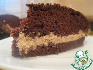 Рецепт Влажный шоколадный тортик