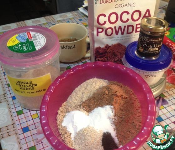 Шоколадный пирог с финиками и орехами вкусный пошаговый рецепт с фотографиями #4