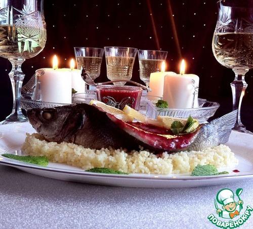 Сибас со сливовым соусом простой рецепт с фотографиями #9