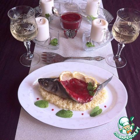 Сибас со сливовым соусом простой рецепт с фотографиями #7