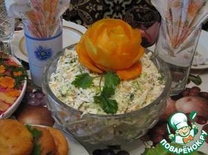 Вкусный рецепт с фото Салат