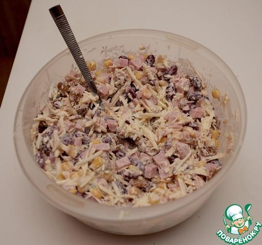 Салат из красной фасоли вкусный рецепт с фото готовим #5