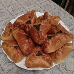 Рецепт Пирожки с говяжьим сердцем