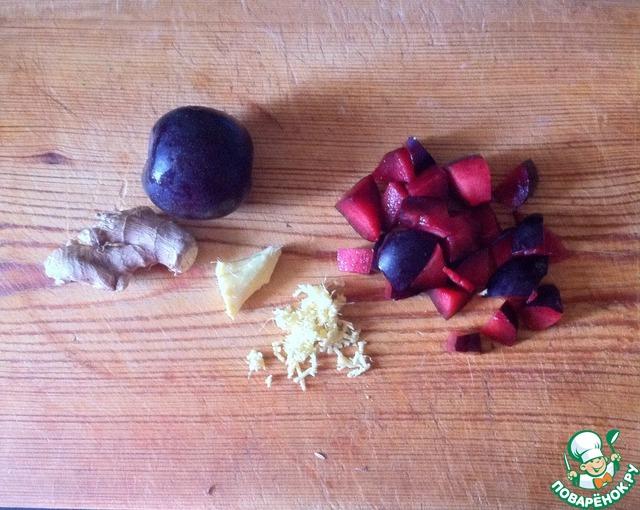 Сибас со сливовым соусом простой рецепт с фотографиями #1