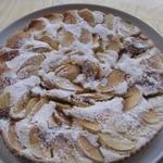Быстрый яблочный тортик
