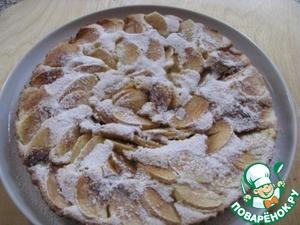 Рецепт Быстрый яблочный тортик