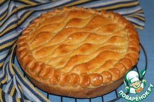 Рецепт Пирог с картофельным пюре и рыбой
