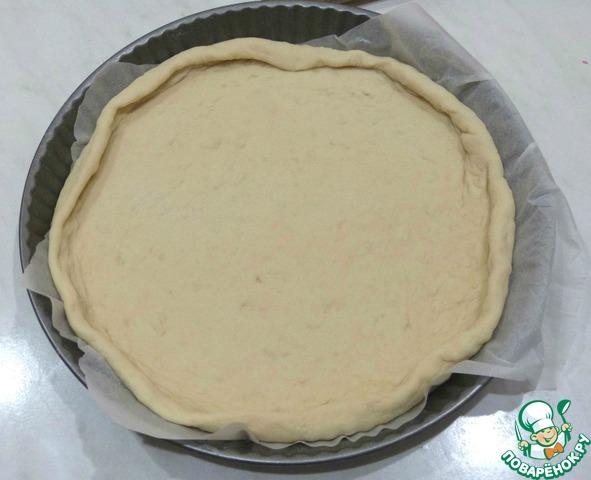 Дрожжевой пирог с черничным вареньем и штрейзелем домашний рецепт приготовления с фотографиями пошагово как приготовить #4