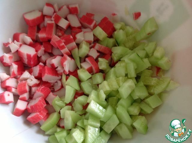 """Салат """"Солнечный"""" вкусный рецепт приготовления с фотографиями пошагово готовим #1"""