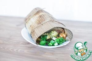 Как приготовить Куриная грудка с беконом и овощами простой рецепт приготовления с фото пошагово