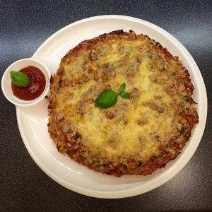 Мясная пицца без теста домашний рецепт с фотографиями пошагово как готовить