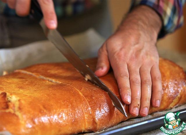 Кулебяка с рыбой рецепты с пошагово