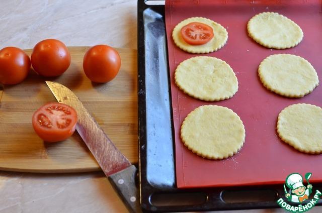 """Мини-""""пиццы"""" с картофельными шапочками простой рецепт приготовления с фотографиями пошагово как готовить #3"""