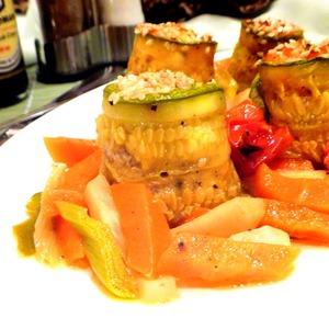 Рулетики из кабачков с лососем пошаговый рецепт с фото как готовить