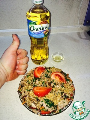рецепты салата с микс морепродуктами