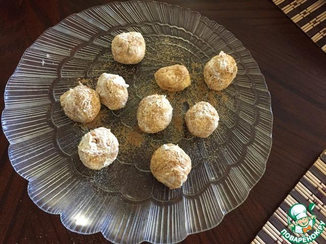 Шоколадный пирог с творожными шариками вкусный рецепт с фотографиями пошагово #2