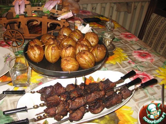 Весенний шашлык вкусный пошаговый рецепт приготовления с фотографиями #29