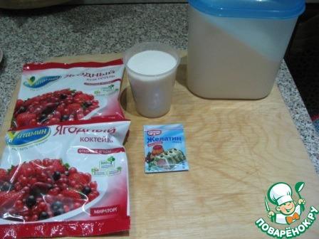 Конфитюр из замороженных ягод в микроволновке простой пошаговый рецепт с фото #1