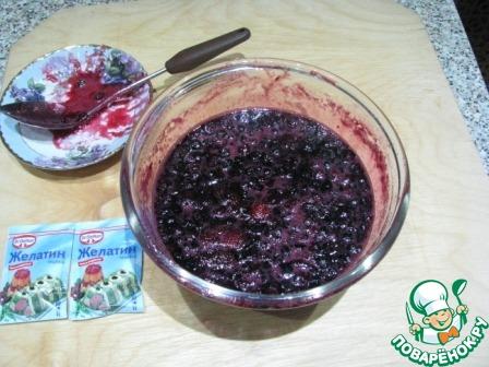 Конфитюр из замороженных ягод в микроволновке простой пошаговый рецепт с фото #5