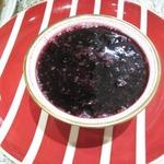 Конфитюр из замороженных ягод в микроволновке