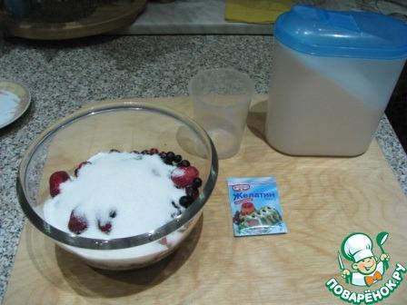 Конфитюр из замороженных ягод в микроволновке простой пошаговый рецепт с фото #2