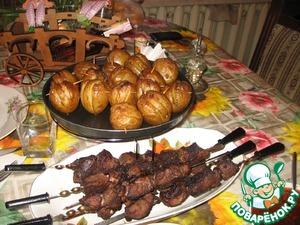 Весенний шашлык вкусный пошаговый рецепт приготовления с фотографиями на Новый Год