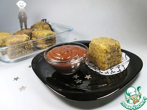 """Готовим рецепт с фото Десерт """"Шоколадный жареный крем"""" #18"""