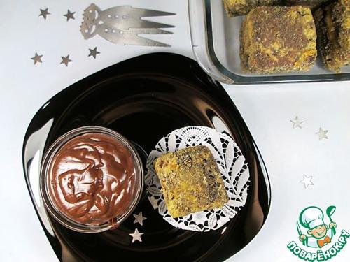 """Готовим рецепт с фото Десерт """"Шоколадный жареный крем"""" #20"""