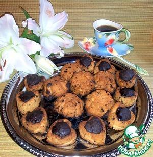 Рецепт Кексы рассыпчатые с шоколадом