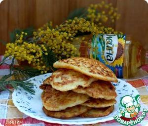 Как приготовить Капустные оладушки вкусный рецепт с фотографиями пошагово