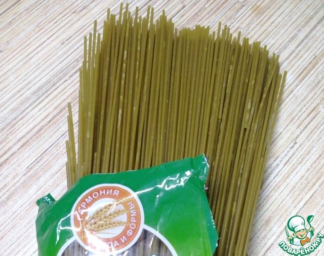 """Спагетти """"Весенние"""" вкусный рецепт с фото пошагово как готовить #1"""